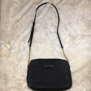 Michael Kors Handbag Black Leather
